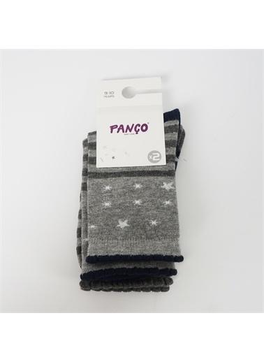Panço Kız Çocuk 2 li Çorap 18236043108 Renksiz